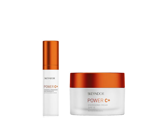 pack promocional power c serum y crema